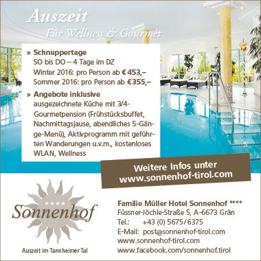 Banner_Hotel SOnnenhof