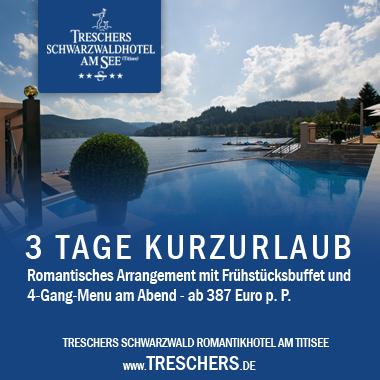 Banner_Treschers Schwarzwaldhotel am See KG