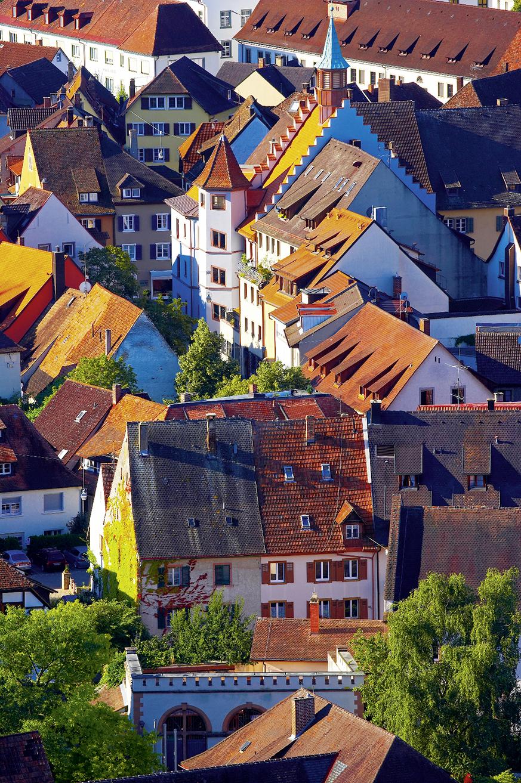 Europa, Deutschland, Baden-Wuerttemberg, Markgraeflerland, Staufen,  Sommer  / Europe, Germany, Baden-Wuerttemberg, Markgraeflerland, Staufen, Summer