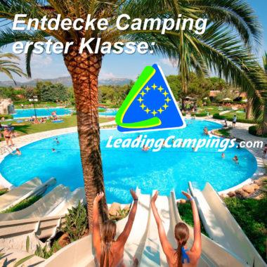 Entdecke Camping  erster Klasse: